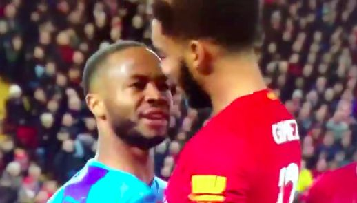 (Video) Gomez & Sterling beef as Liverpool star has no time for City's head loss
