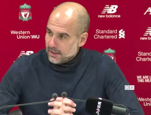Pep rants about why Liverpool are 'best team, right now, in the world'