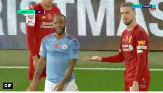 (Video) Clip of Henderson deadpanning Sterling's tantrum all the funnier now