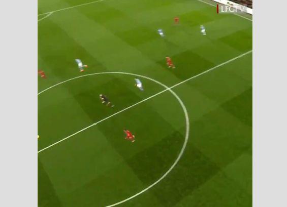 (Video) Birdseye view of Salah's goal v City is simply stunning