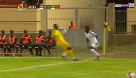 (Video) Sadio Mane produces outrageous skill to leave Congo defender for dead