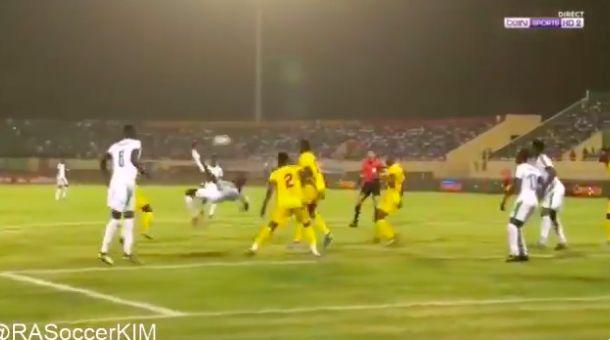 (Video) Sadio Mane overhead kick assist for Senegal v Congo