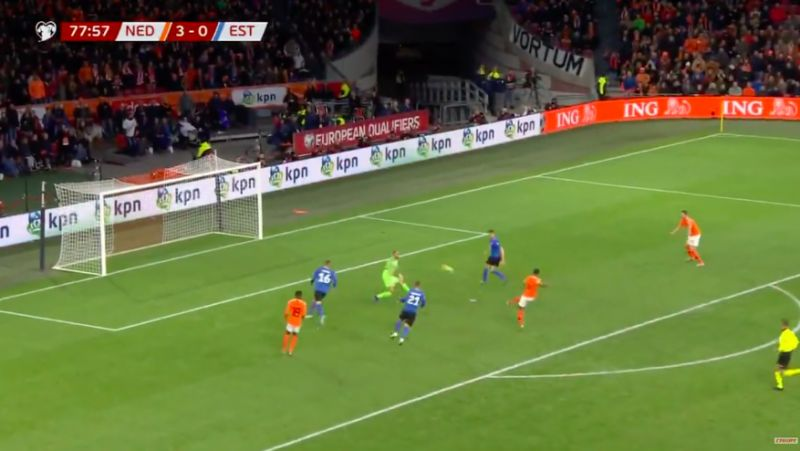 (Video) Gini Wijnaldum's stunning Netherlands hat-trick as skipper proves he's one of world's best midfielders