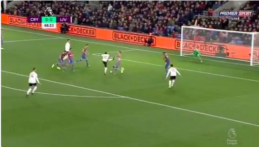 (Video) Sadio Mane's perfect finish puts the Reds in front at Selhurst Park