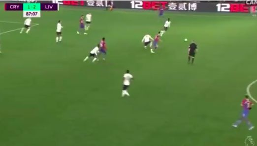 (Vide) Fabinho's brilliant late tackle v Crystal Palace helped Reds kill game