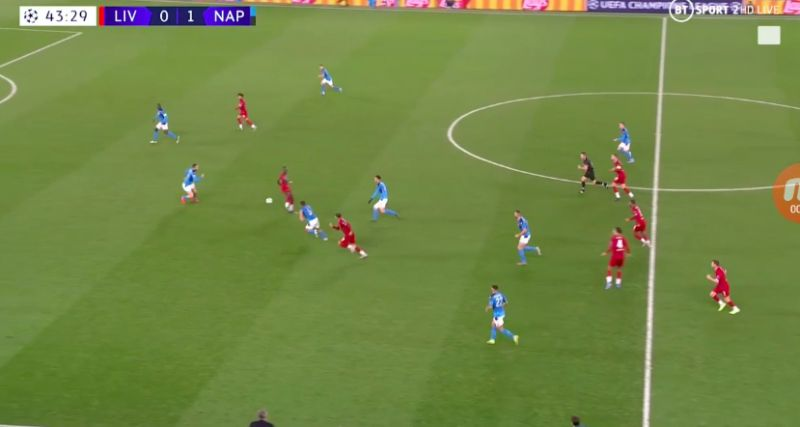 (Video) Sadio Mane's spinning pass to Firmino v Napoli is magic