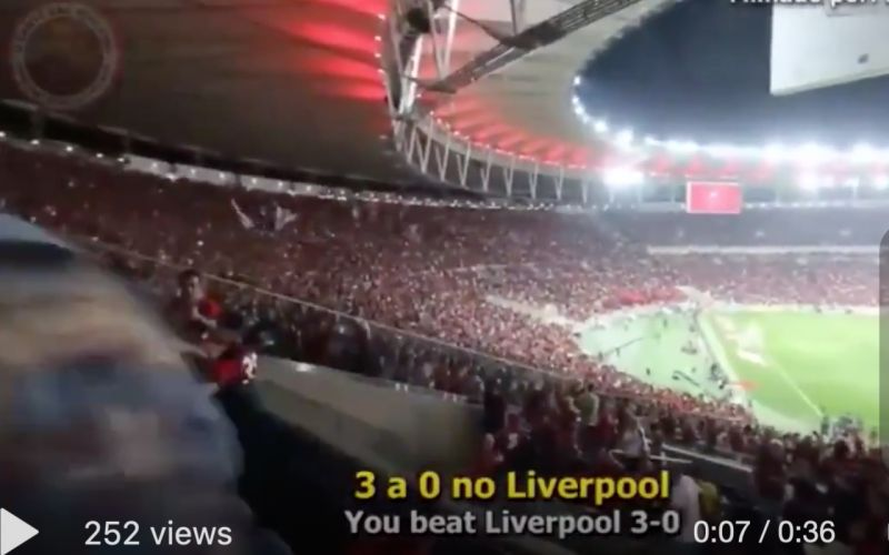 (Video) Liverpool's potential Club World Cup opponents Flamengo have a song about the Reds