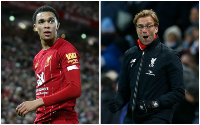 (Video) Trent's sumptuous cross-field pass against Aston Villa is a must-watch thing of beauty