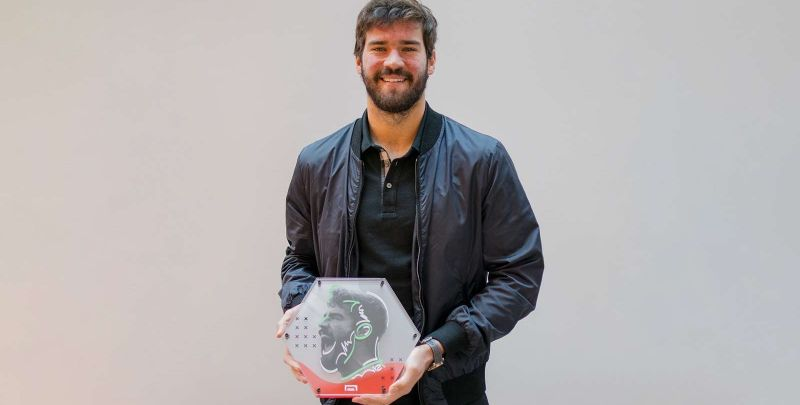 Liverpool goalkeeper Alisson named best in the world by Goal 50