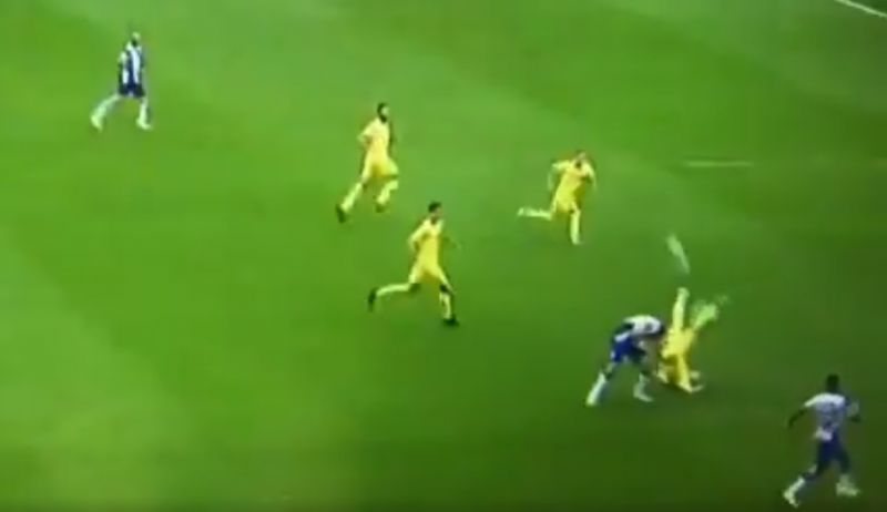 (Video) Former Red Alberto Moreno makes the most daft clearance you'll ever see