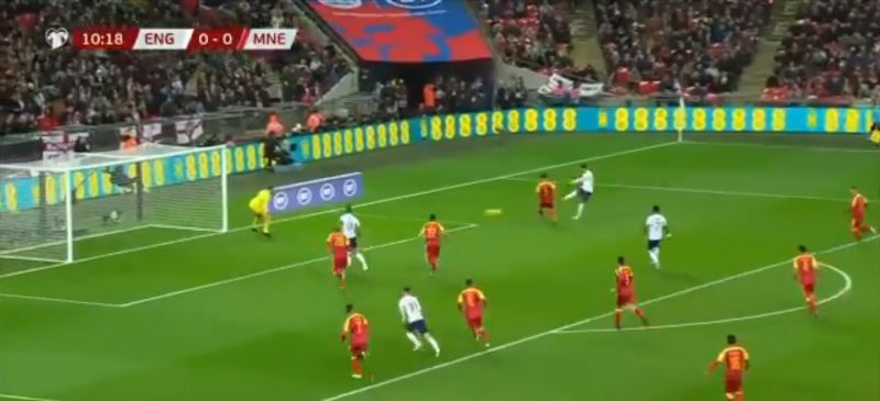 (Video) Ox fires England ahead with unstoppable shot after just 10 minutes