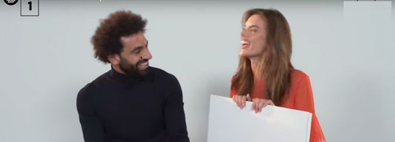 (Video) Salah tries to answer questions about fashion world in hilarious GQ interview