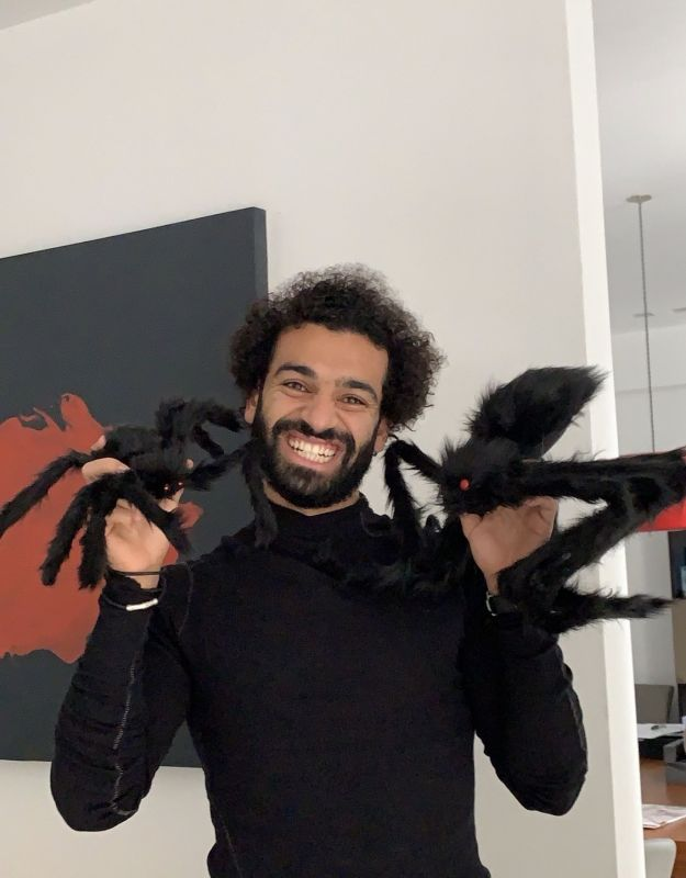 (Photos) How Liverpool players celebrated Halloween 2019
