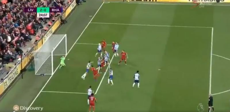 (Video) Watch the highlights of LFC v. Brighton as 10-man Reds hold on for three points