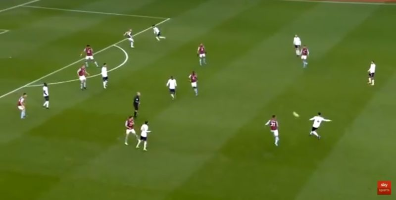 (Video) Van Dijk's majestic pass to Salah showcases no.4's play-making ability