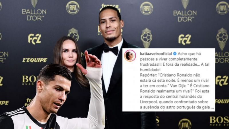 Evidence hints Ronaldo (not his sister) wrote angry Van Dijk Instagram rant