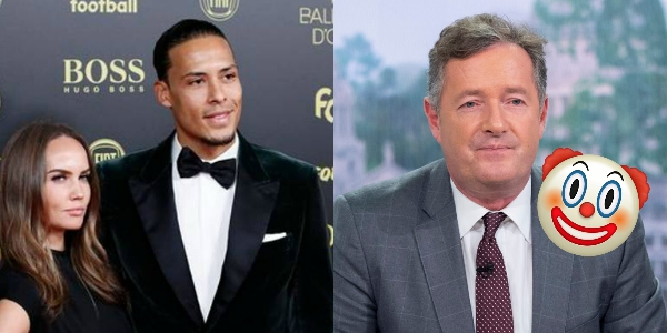 Virgil van Dijk hits back at Piers Morgan after Cristiano Ronaldo joke taken out of context