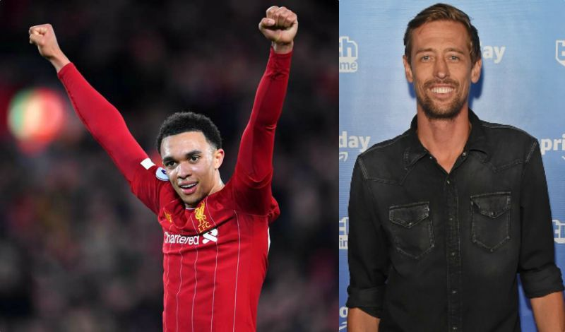 "Crouch thinks Trent was ""lucky to stay on the pitch"" in LFC's thrashing of Everton"