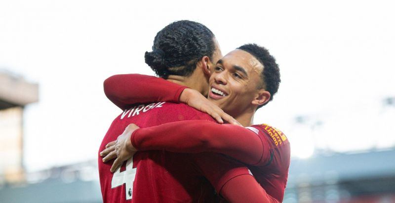 Stats show Trent is the PL's best creator & Virgil the highest-scoring defender
