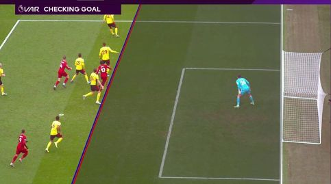 (Photos) Another LFC goal ruled out because of offside armpit thanks to VAR