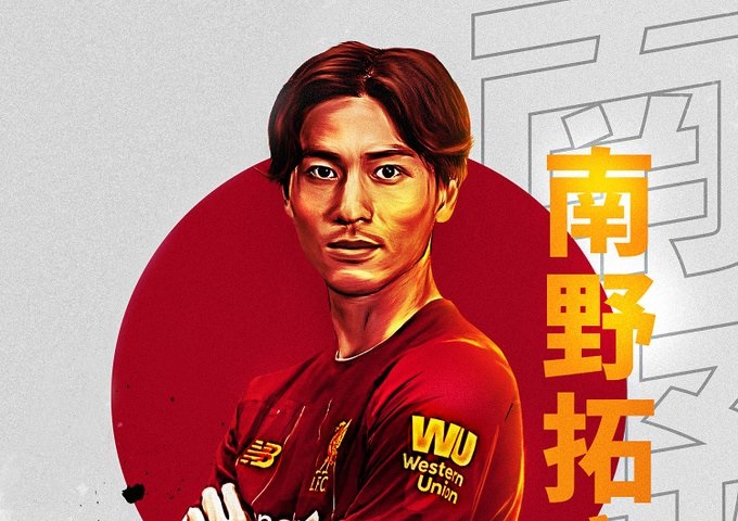 (Images) The best Minamino fan-art as LFC supporters go wild for Japan superstar signing