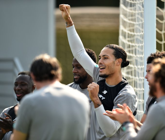 (Video) Virgil van Dijk resumes normal training with Liverpool in Qatar
