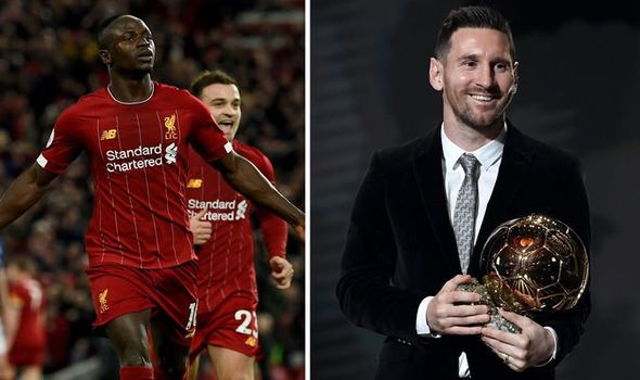 Messi says it's a 'shame' Sadio Mane didn't win Ballon d'Or