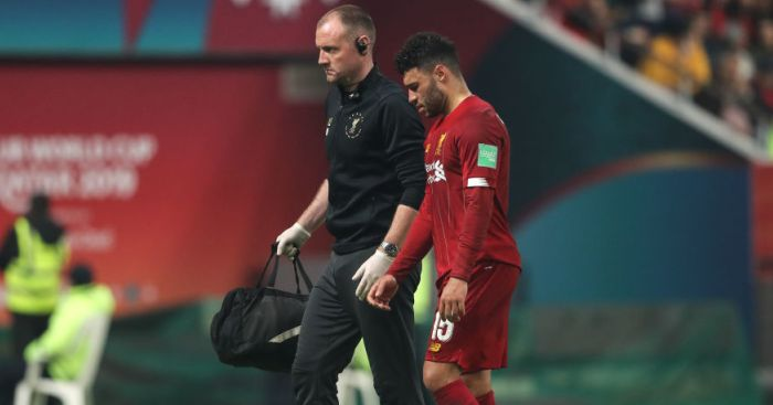Oxlade-Chamberlain out until February with ligament injury