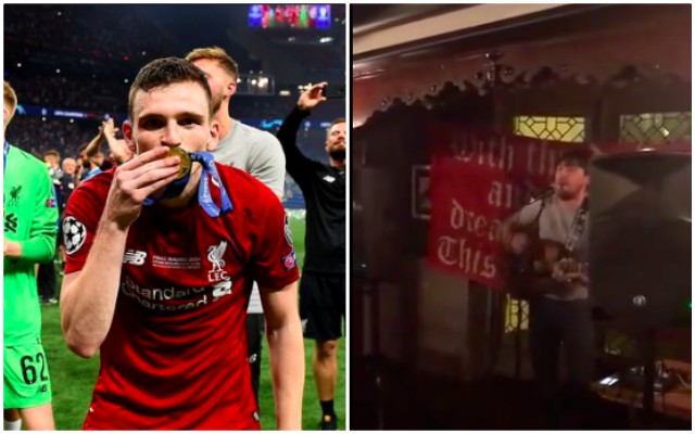(Video) Brilliant Andy Robertson song based on Gerry Cinnammon's 'Belter' goes viral