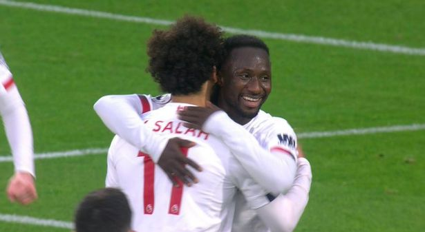 Keita's crazy stats as Many Reds laud no.8: 'The Vitaly Stadium Vieira'