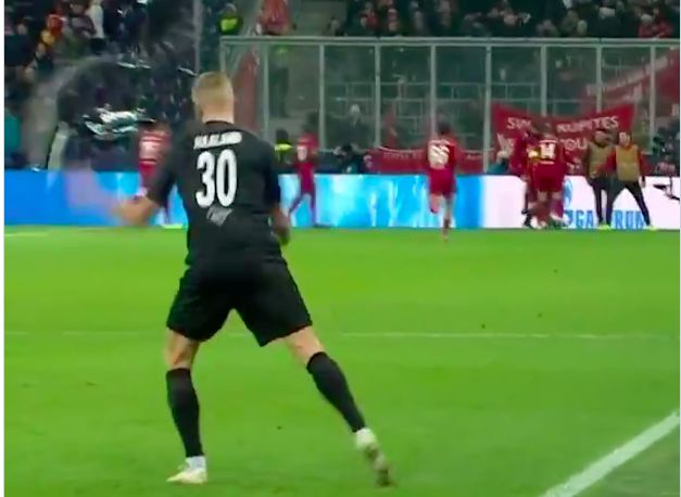 (Video) Haaland has on-field tantrum after predicting hat-trick v Liverpool