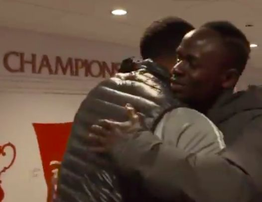 (Video) Sadio Mane made beautiful request of Troy Deeney after Saturday's win