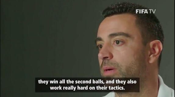 (Video) Xavi's brilliant interview on Liverpool's tactics is a must-watch