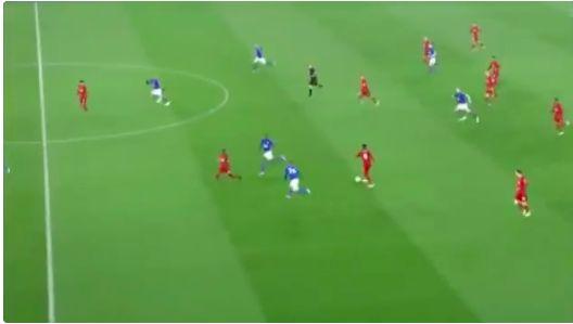 (Video) Keita hits sublime through-ball for Salah but Mo cannot repeat Salzburg goal