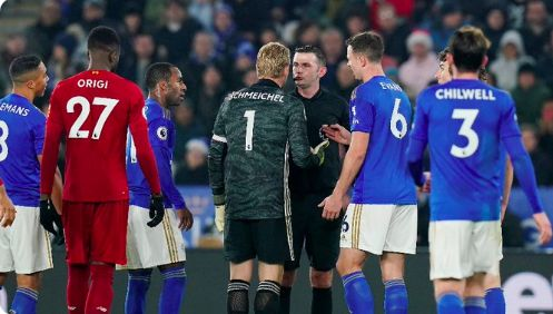Kasper Schmeichel says most MORONIC thing of season following Liverpool's 4-0 win