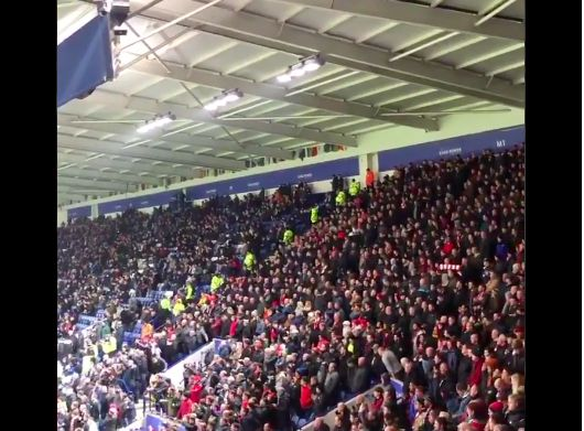 (Video) Liverpool's Christmas Carol v Leicester was an instant classic