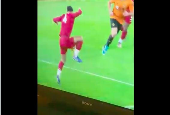 (Video) Van Dijk's 'handball' was absolutely nothing; VAR made 100% correct decision