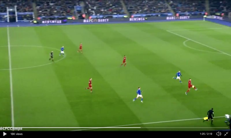 (Video) Van Dijk actually produced an incredible defensive flick nobody is talking about v Leicester