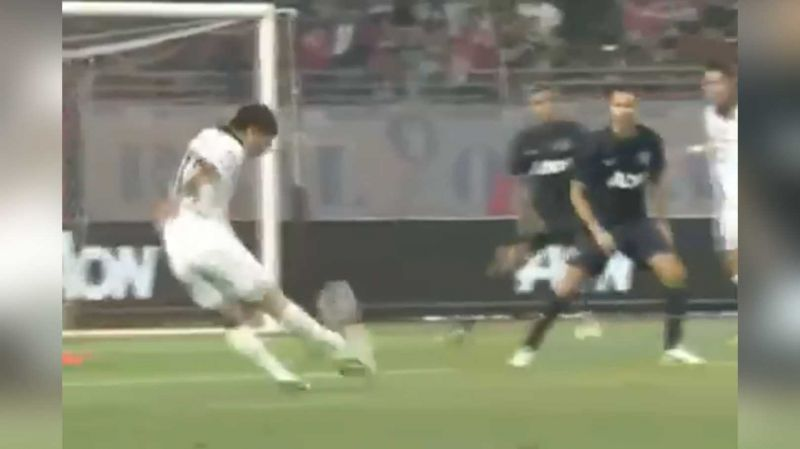 (Video) Check out this Minamino WORLDY v Manchester United