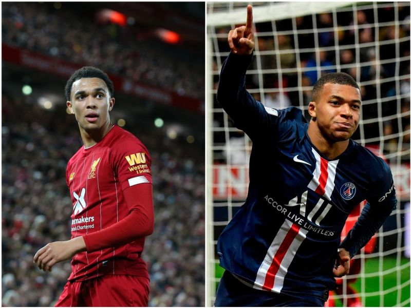 Many Reds think Trent is hinting at Mbappe to Liverpool transfer