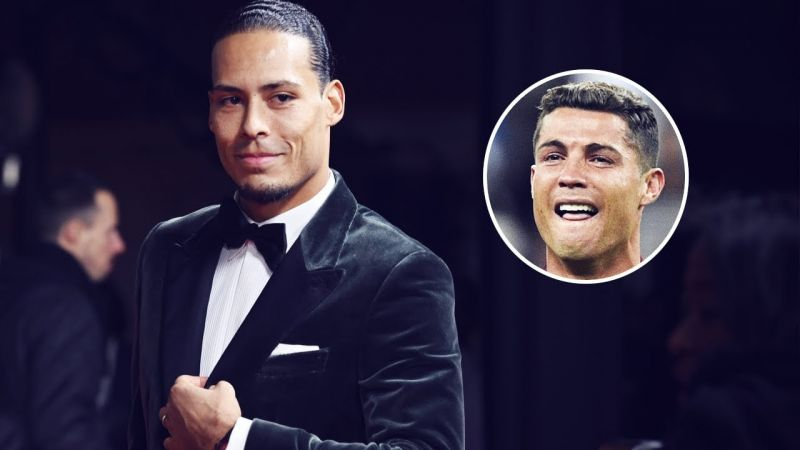 Bitter Ronaldo hits out at Virgil with sarcastic nonsense after Van Dijk's Ballon d'or joke