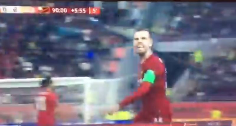 (Video) Henderson's explicit rant at full-time whistle in Club World Cup final hits nail on head