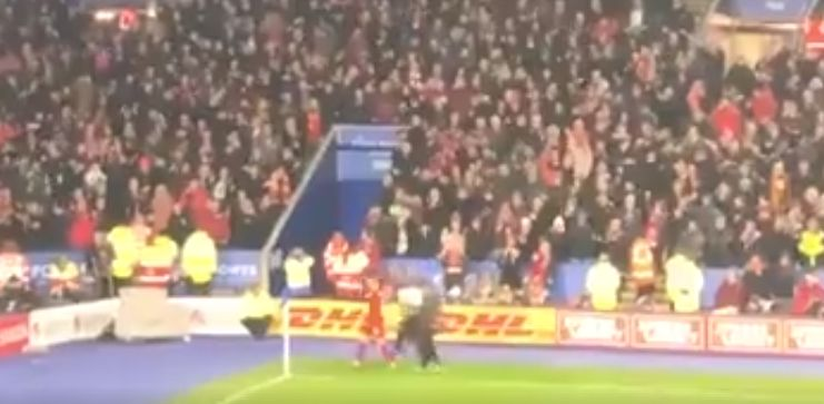 (Video) Henderson given thunderous ovation by LFC fans as he went off injured