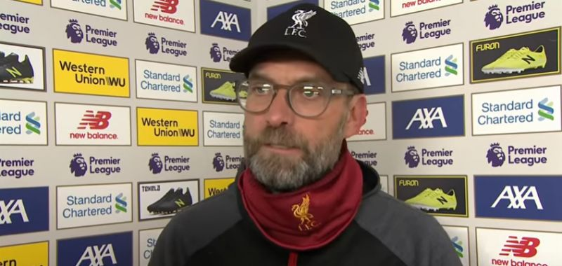 Klopp slams FA for Christmas 'crime' of ignoring 'science'