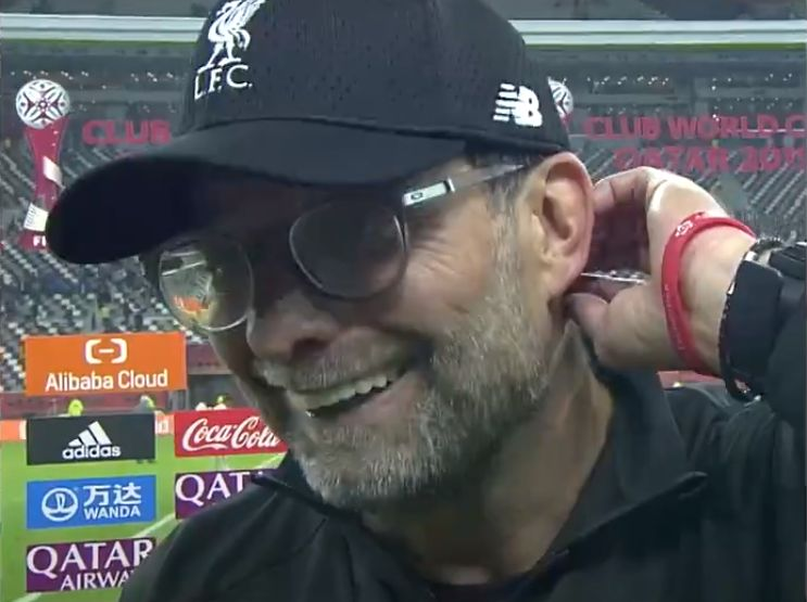 (Video) Klopp singing the Alisson Becker song to the tune of Radio Ga Ga by Queen