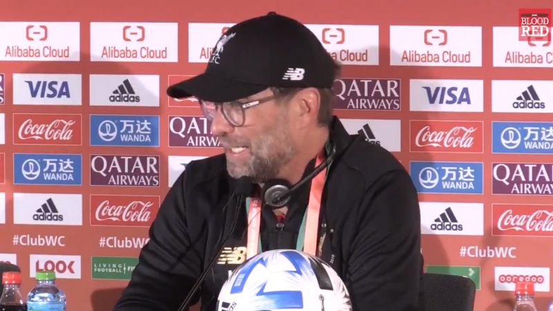 (Video) Klopp praises LFC's firepower; says if Mane, Salah or Firmino won't get you Origi or Shaqiri will
