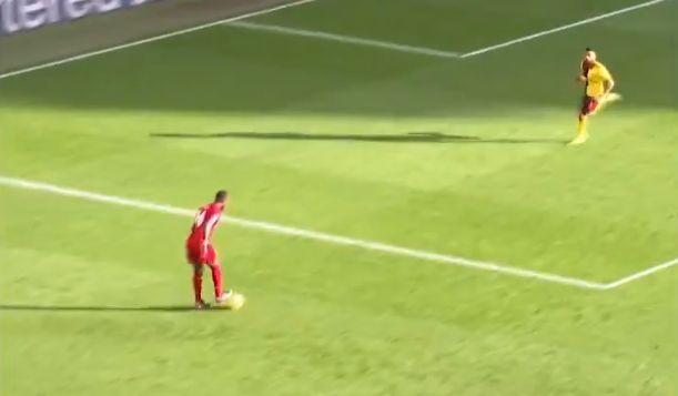 (Video) Mane controls Trent's cross-field, 50-yard pass with brilliant elegance