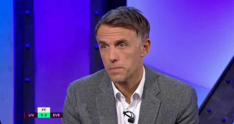 (Video) Phil Neville calls Sadio Mane the best player in the league after stellar performance