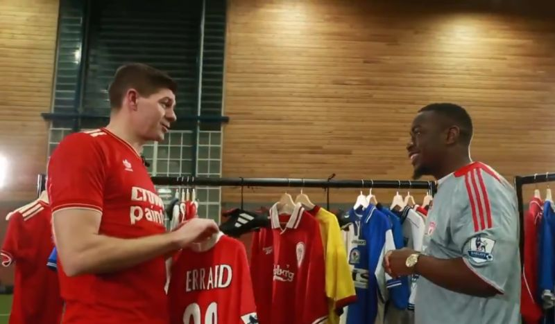 """(Video) Steven Gerrard explains what it's like to carry the """"weight of the city"""" of Liverpool"""