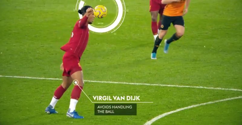 (Video) New angle clearly shows van Dijk didn't handle the ball in build-up to goal
